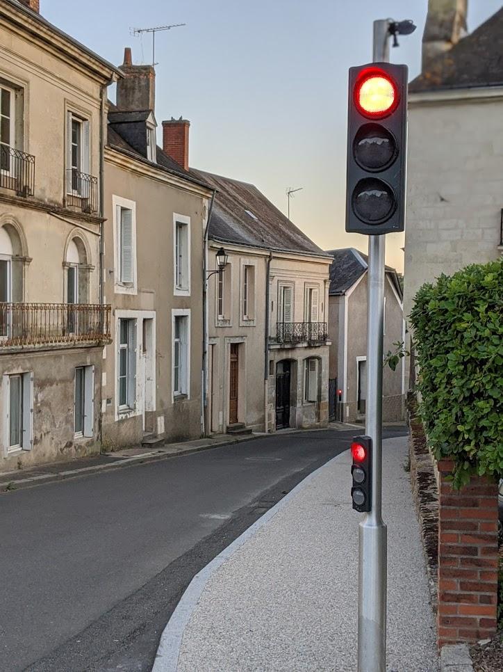 Feux rue du Val Joyeux