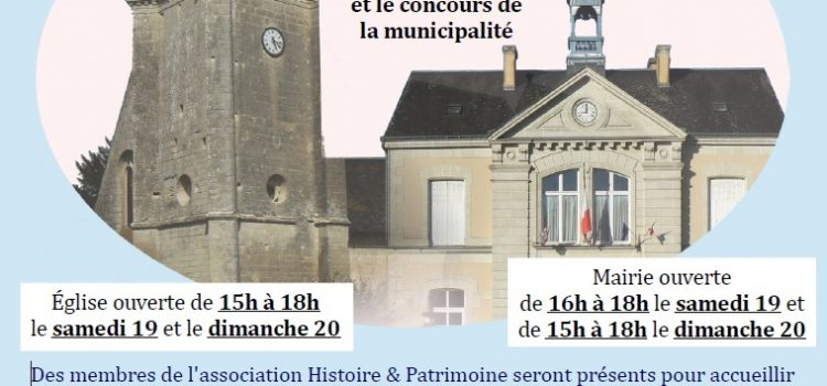 19-20 SEPT – Journées du patrimoine (H&P)
