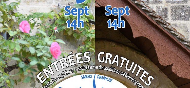 19-20 SEPT – Journées du patrimoine (spectacles)